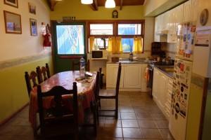 Küche im La Posta