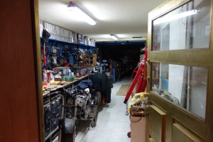 Werkstatt des Gastgebers