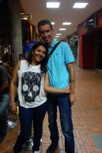 Marcella und Andres aus Kolumbien