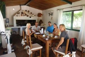 Corinna und Hermann haben uns mit leckerem Essen verwöhnt