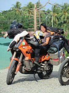 Tina, das neue Bikergirl