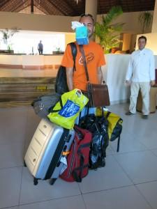 Arturo unsere Fahrer und Gepäckträger